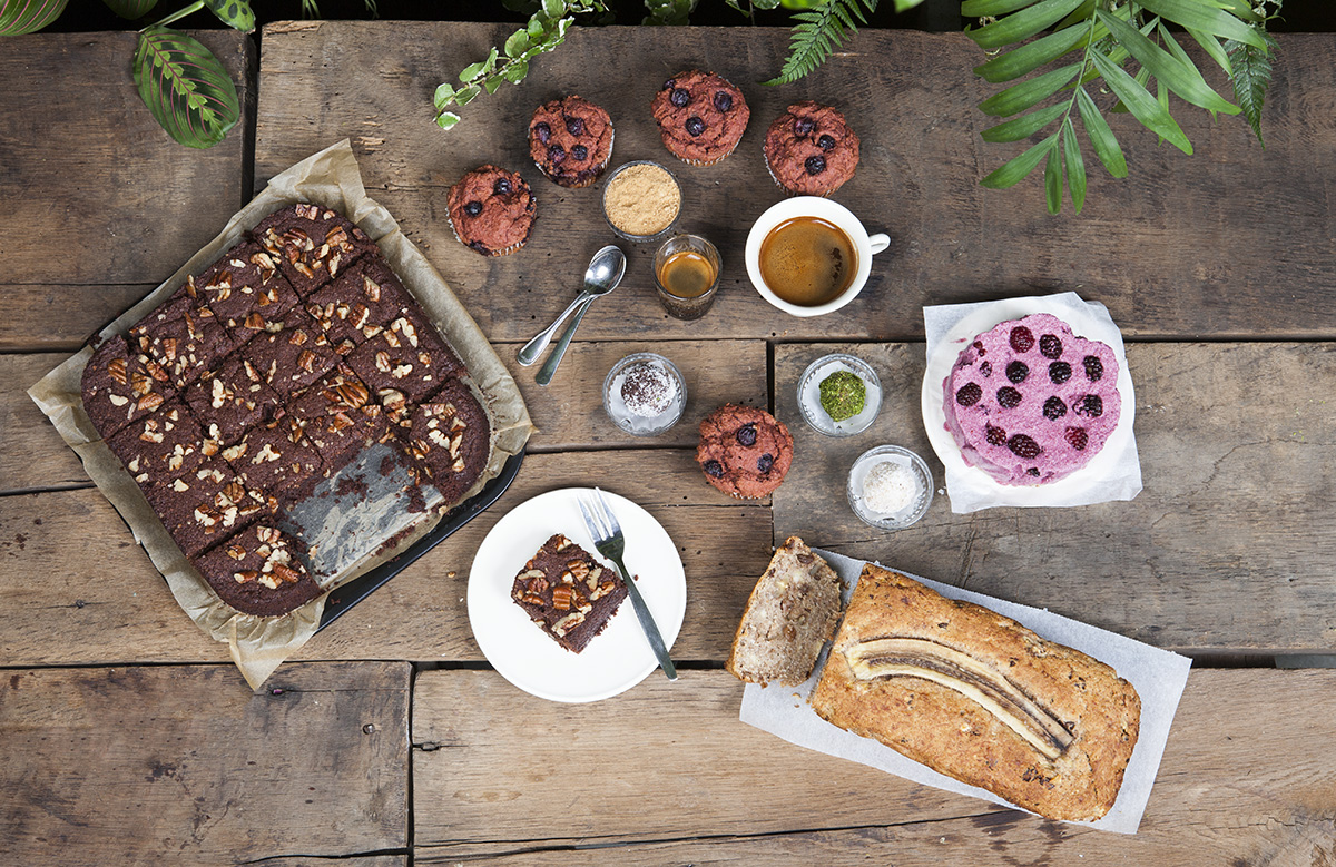 Healthy sweets assortment