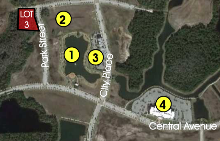 Lot 3 (Phase 2) - 0.3+/- AcresRetail Commercial                  $400,000Development opportunity within 5 minutes of I-95! Perfectly situated less than 10 minutes from the golden sands of Flagler Beach and its ever-expanding offering of river and ocean viewrestaurants, this is the last treasure along the Flagler and Volusia Coast. A dozen golf courses are within 15 minutes of Town Center and for the boater, there are numerous marinas and theIntracoastal Waterway just over a mile away. Led by the oceanfront resorts of Hammock Dunes and golf communities such as Grand Haven, Palm Coast enjoyed explosive growth throughoutthe 1990s and early 2000s and now exceeds 100,000 in population.