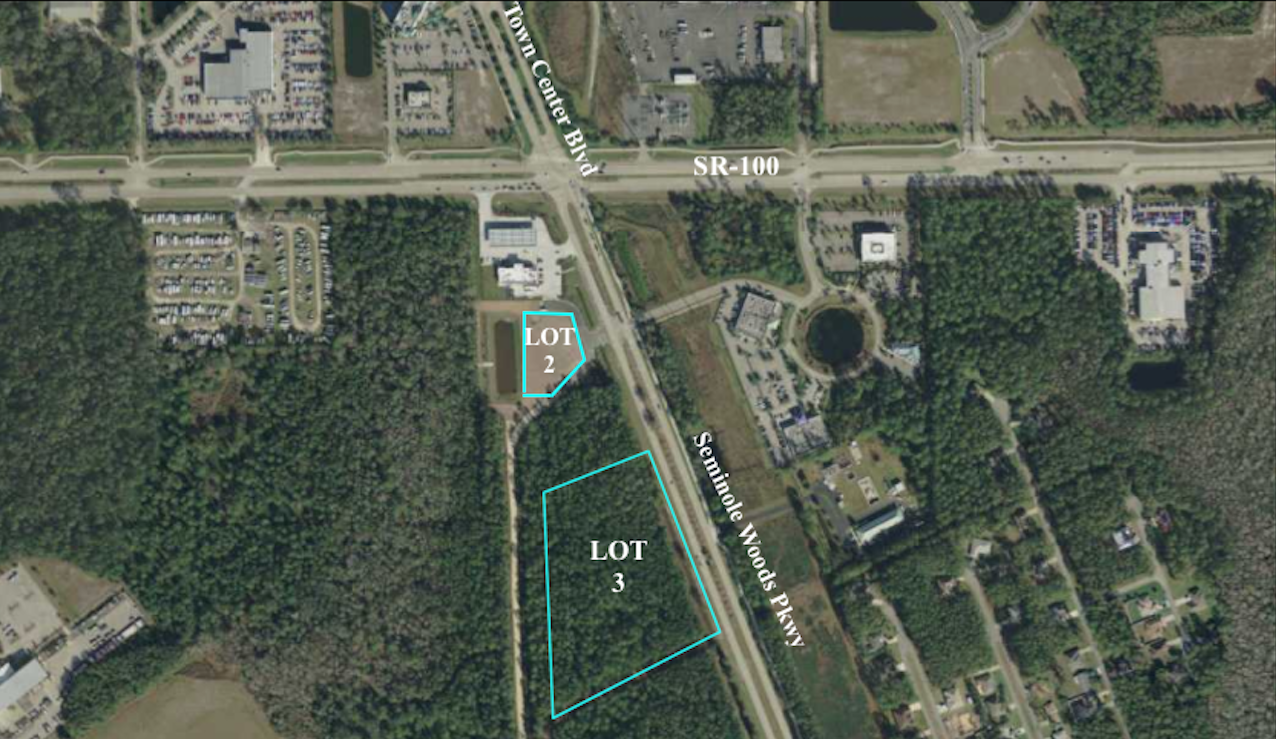 - LOT 2Size: 1.1 +/- AcresZoning: COM-2$610,000LOT 3: SOLD