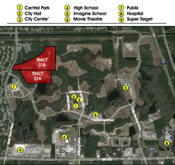 Tracts 21A & 21B - TRACT 21A 16.9 +/- Net Acres Approved for up to 250 Residential Units$2,500,000TRACT 21B  22 +/- Net Acres Approved for up to 330 Residential units$3,300,000