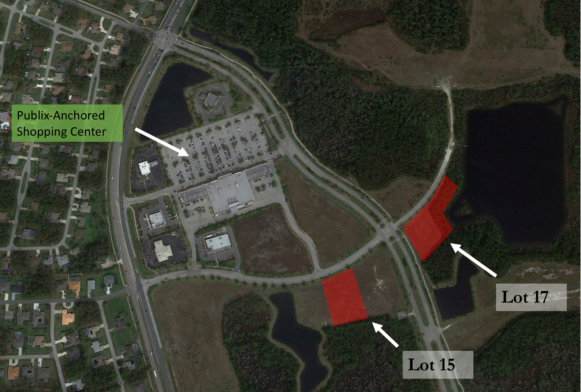 Office Sites - LOT 15                               1.6 +/- Net Acres 17,500sf Office Entitled$350,000Lot 17                                1.1 +/- Net Acres 10,000sf Office Entitled$400,000