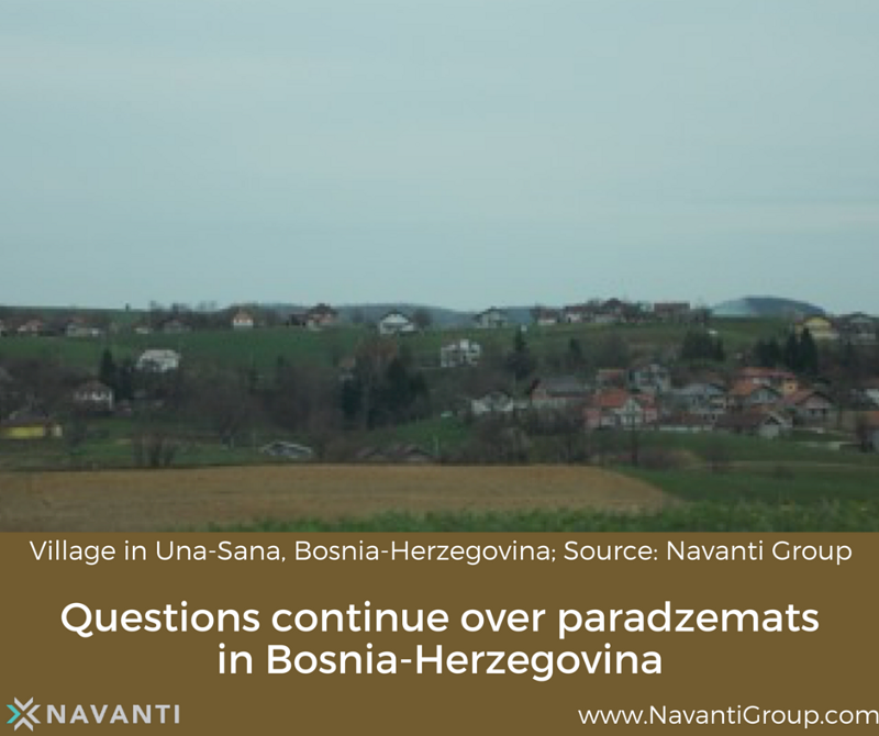 Village in Una-Sana, Bosnia-Herzegovina