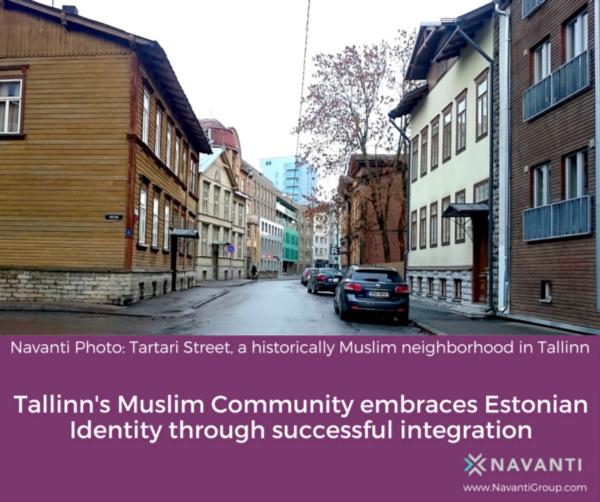 Tartari Street, A Historically Muslim Neighborhood in Tallinn
