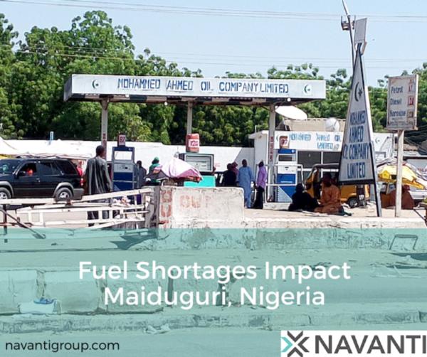 Fuel Shortages Impact Maiduguri, Nigeria
