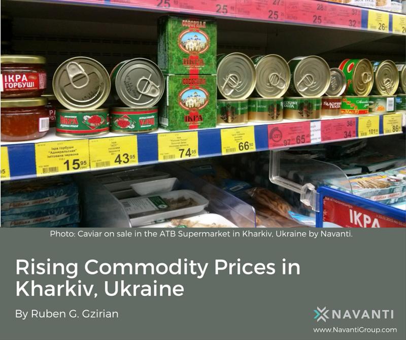 Caviar on Sale in the ATB Supermarket in Kharkiv, Ukraine