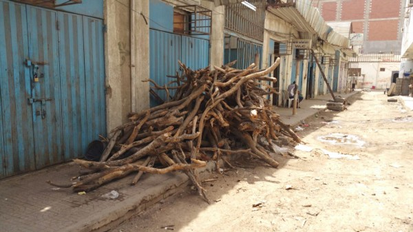 Wood for Sale at Al Madinah Grocery and Bakery, Al Mansourah, Aden
