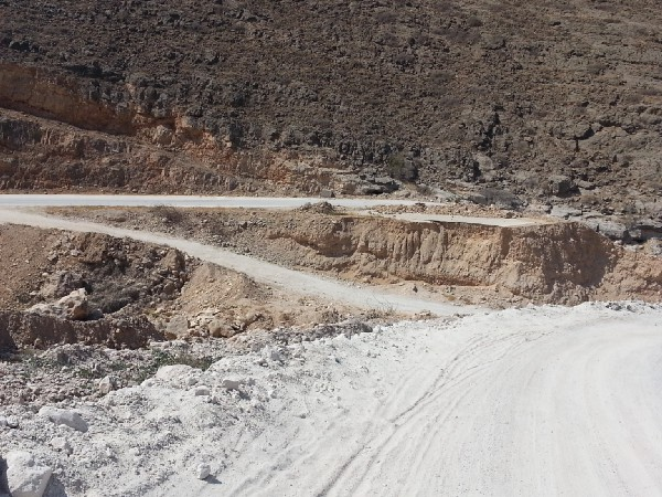 Road washed out by Cyclone Chapala. Source: Navanti Group