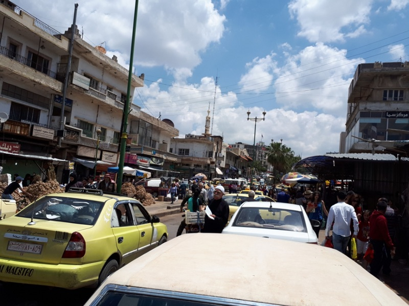 Al-Suwayda city market. Source: Navanti Group