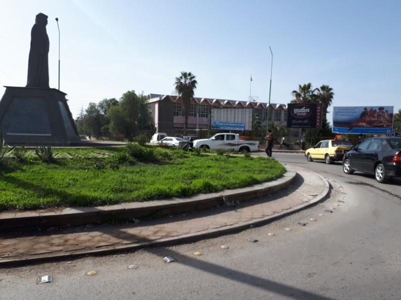 Traffic Circle in al-Suwayda city. Source: Navanti Group