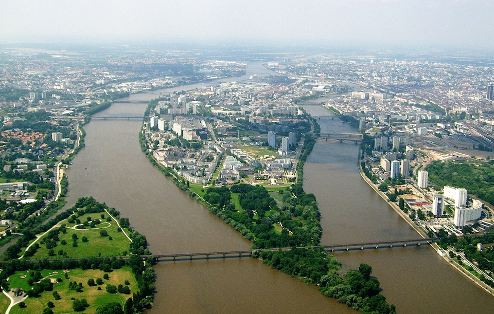 Nantes, France. Source: Wikimedia Commons
