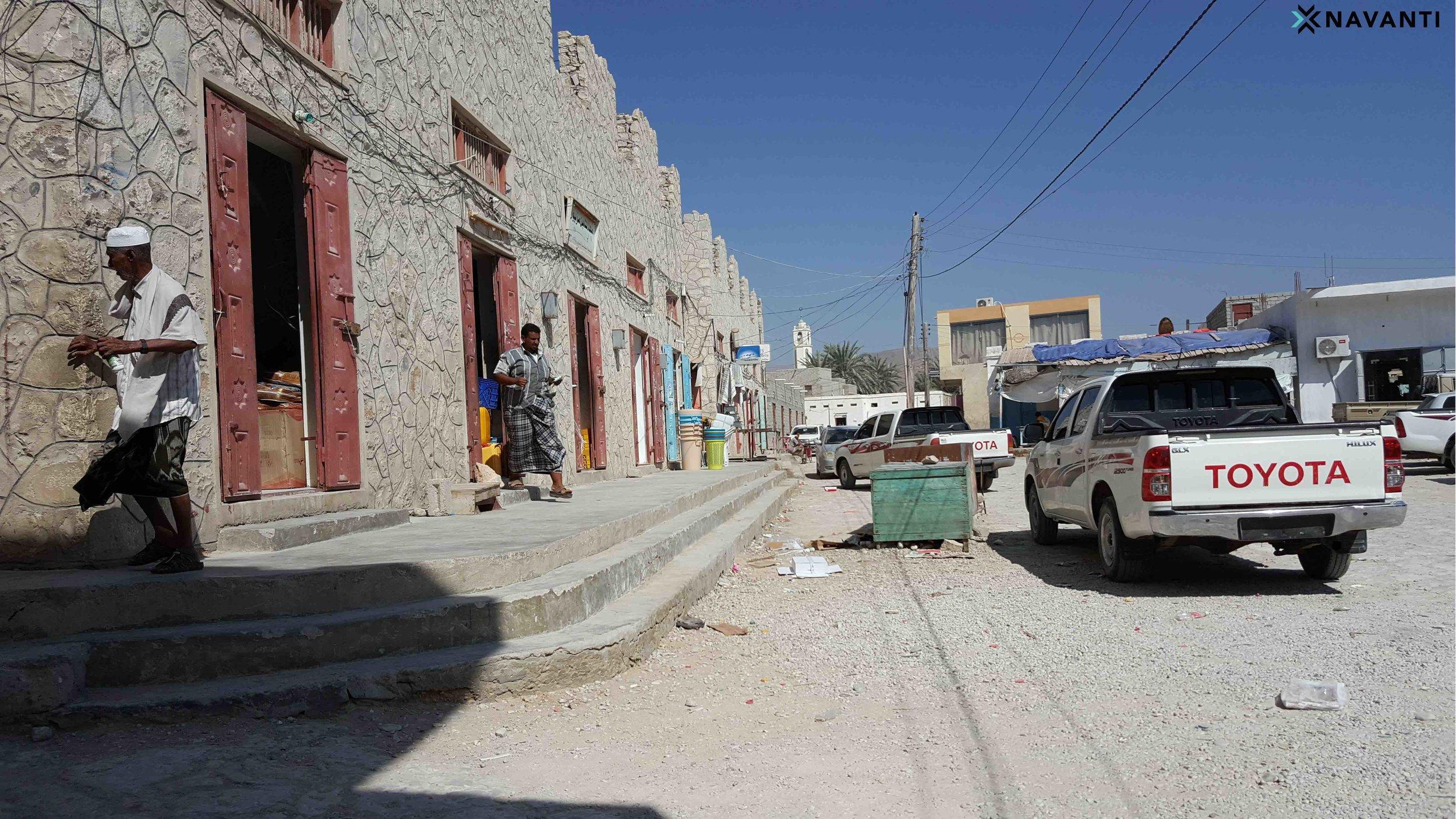 Market in the town of Sayhut, al-Mahra. Source: Navanti.