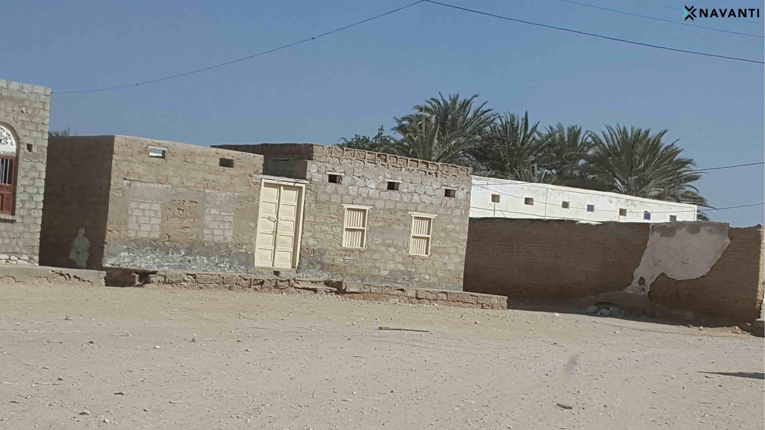 Working class homes in Sayhut, al-Mahra. Source: Navanti