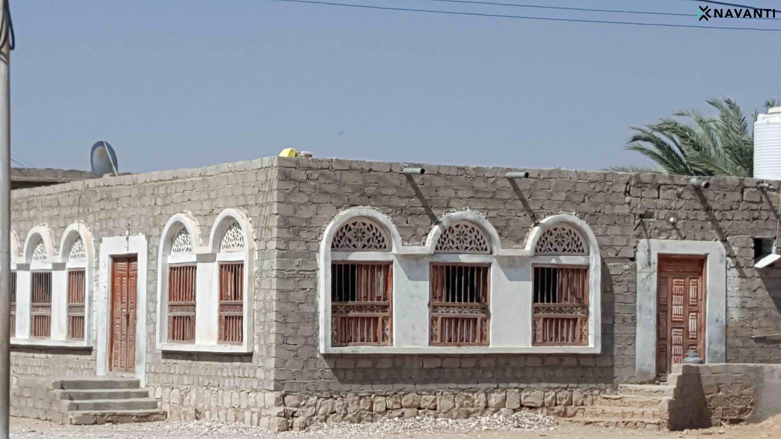 Traditional houses in Sayhut, al-Mahra. Source: Navanti.