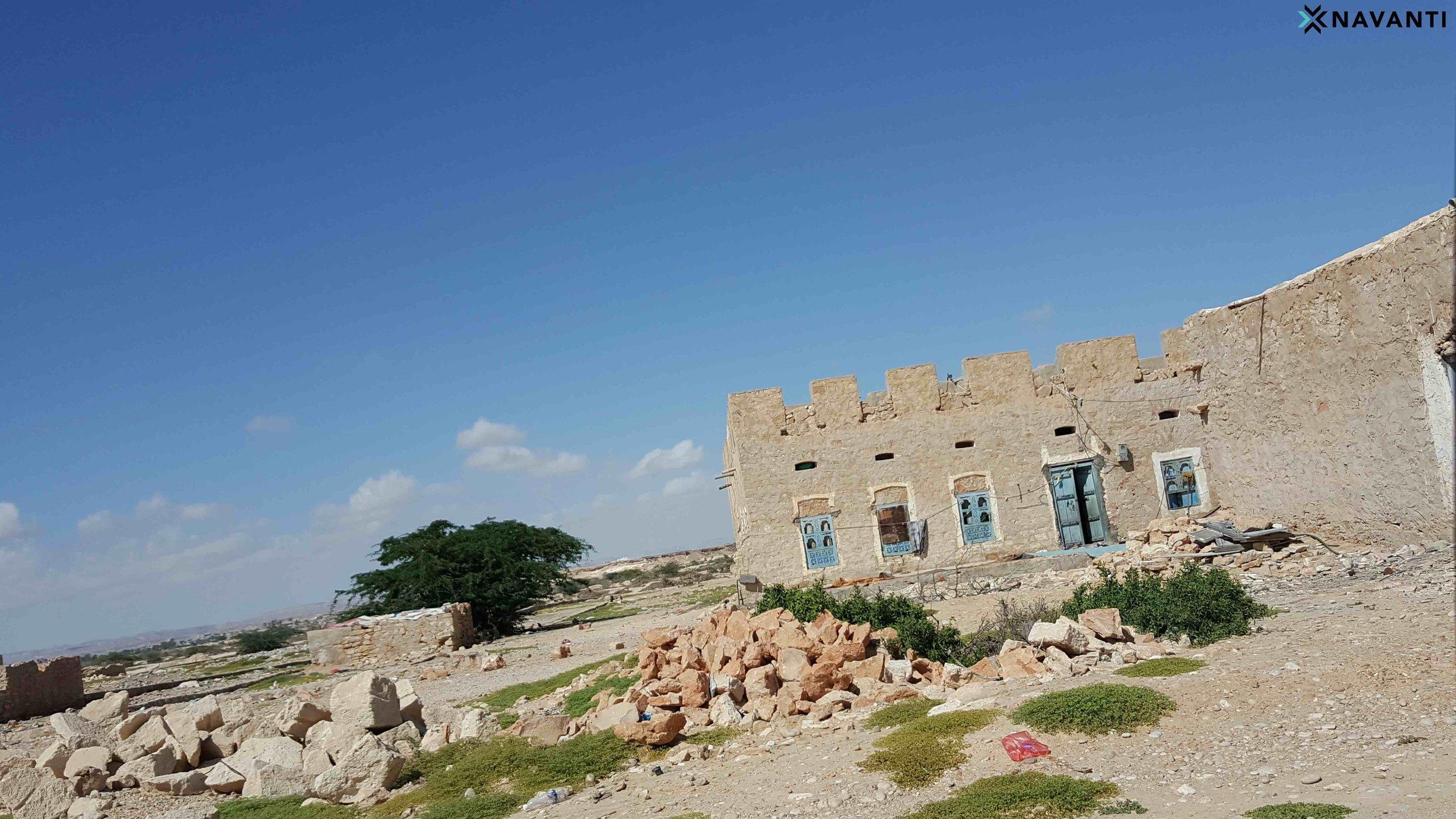 Working class homes in al-Ghayda, al-Mahra. Source: Navanti