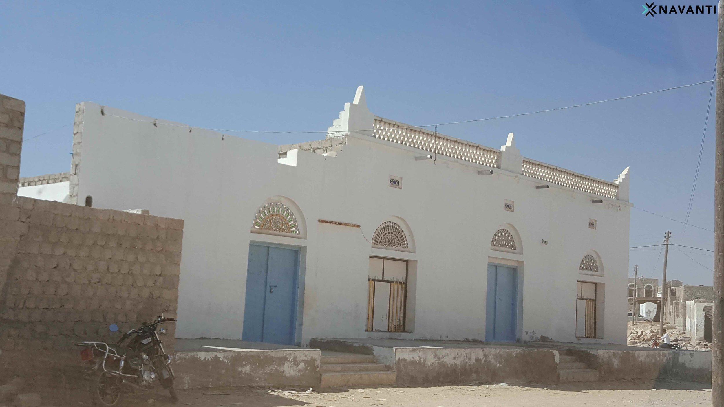 Historic Sufi mosque in Sayhut, al-Mahra. Source: Navanti