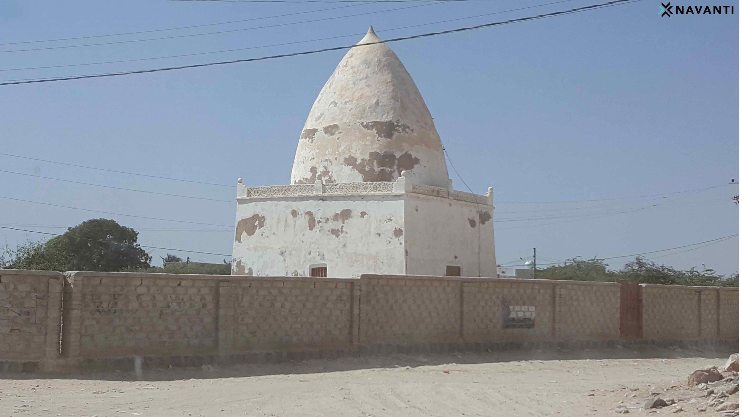 Sufi shrine in Sayhut, al-Mahra. Source: Navanti
