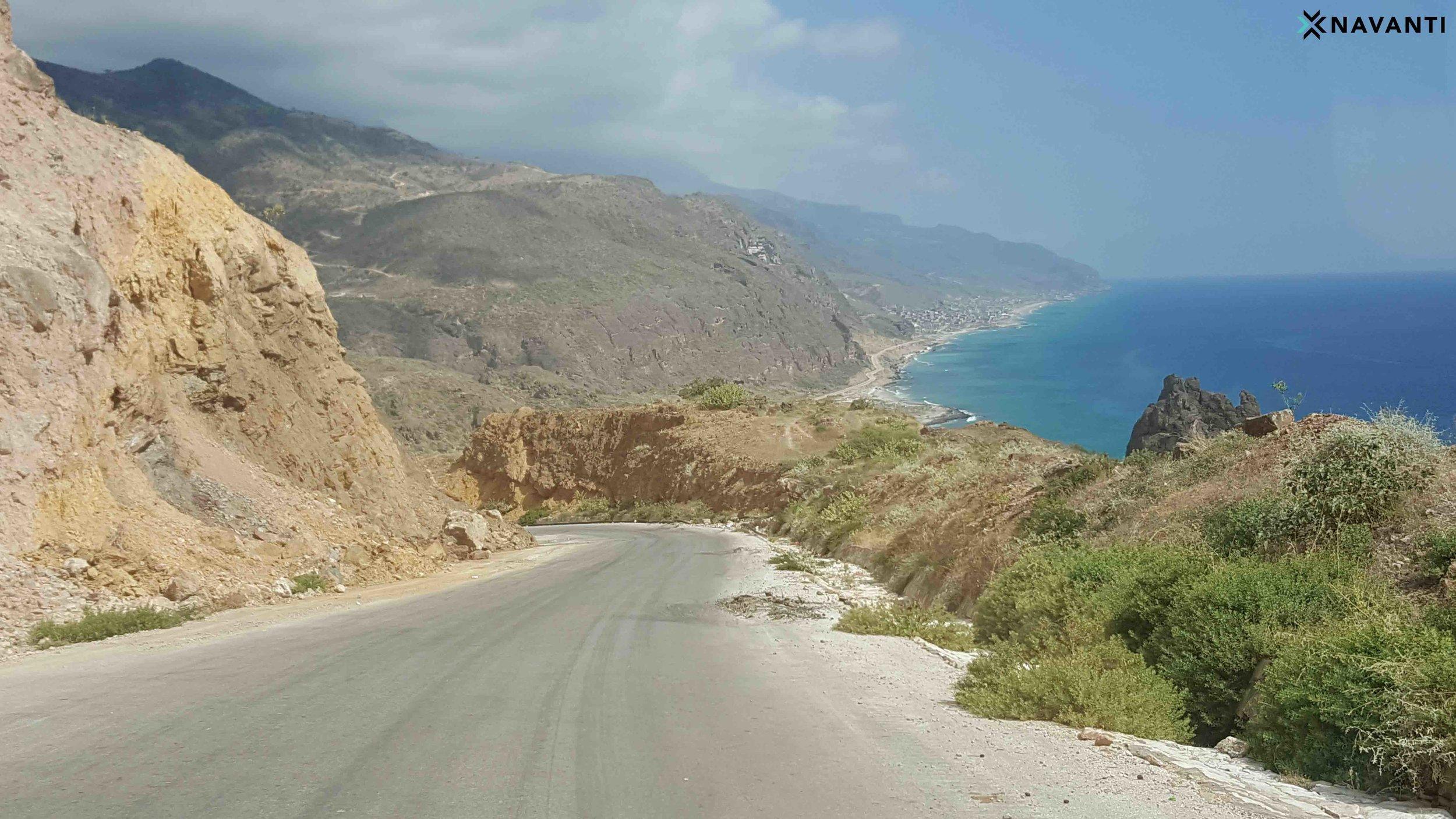 The al-Mahra coast. Source: Navanti