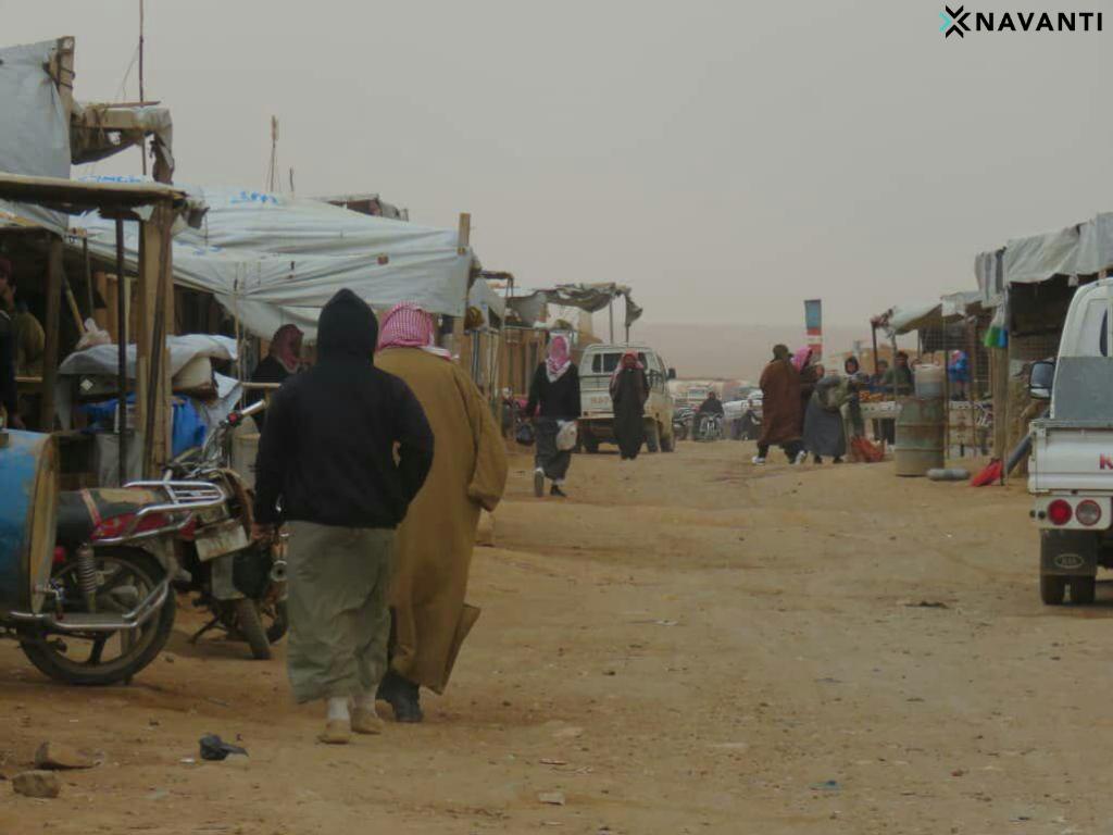 Market in Rukban. Source: Navanti