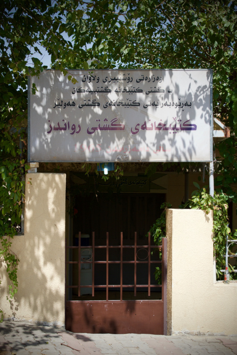 Library in Rawanduz, Iraqi Kurdistan. Source: Wikimedia