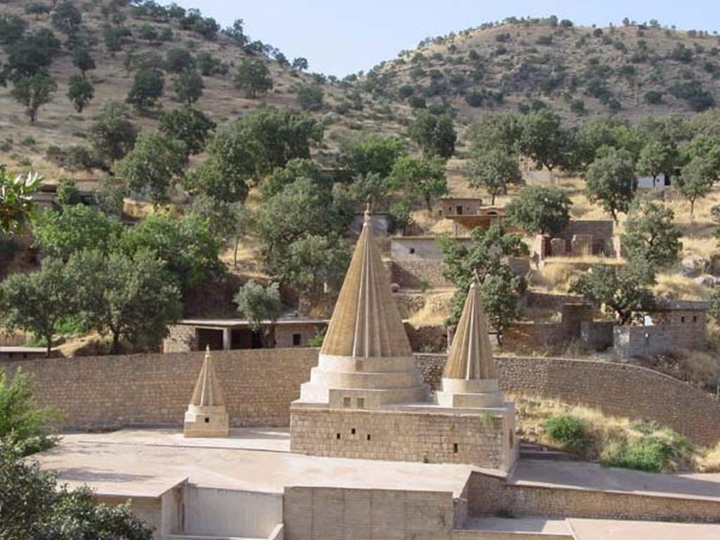 Lalish Temple. Source: Wikimedia Commons