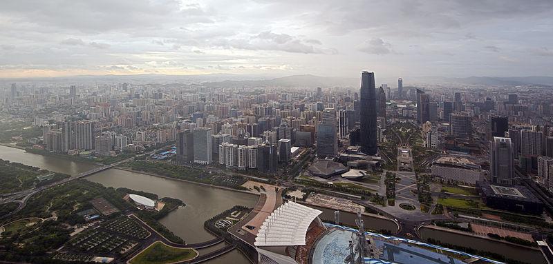 مدينة كوانزو الصينية. المصدر: ويكيميديا