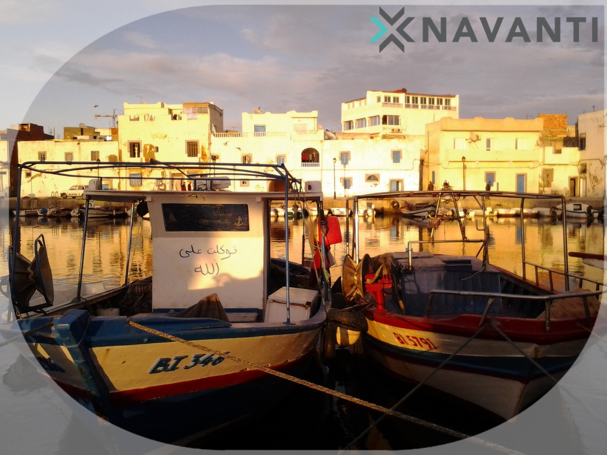 The old port of Bizerte