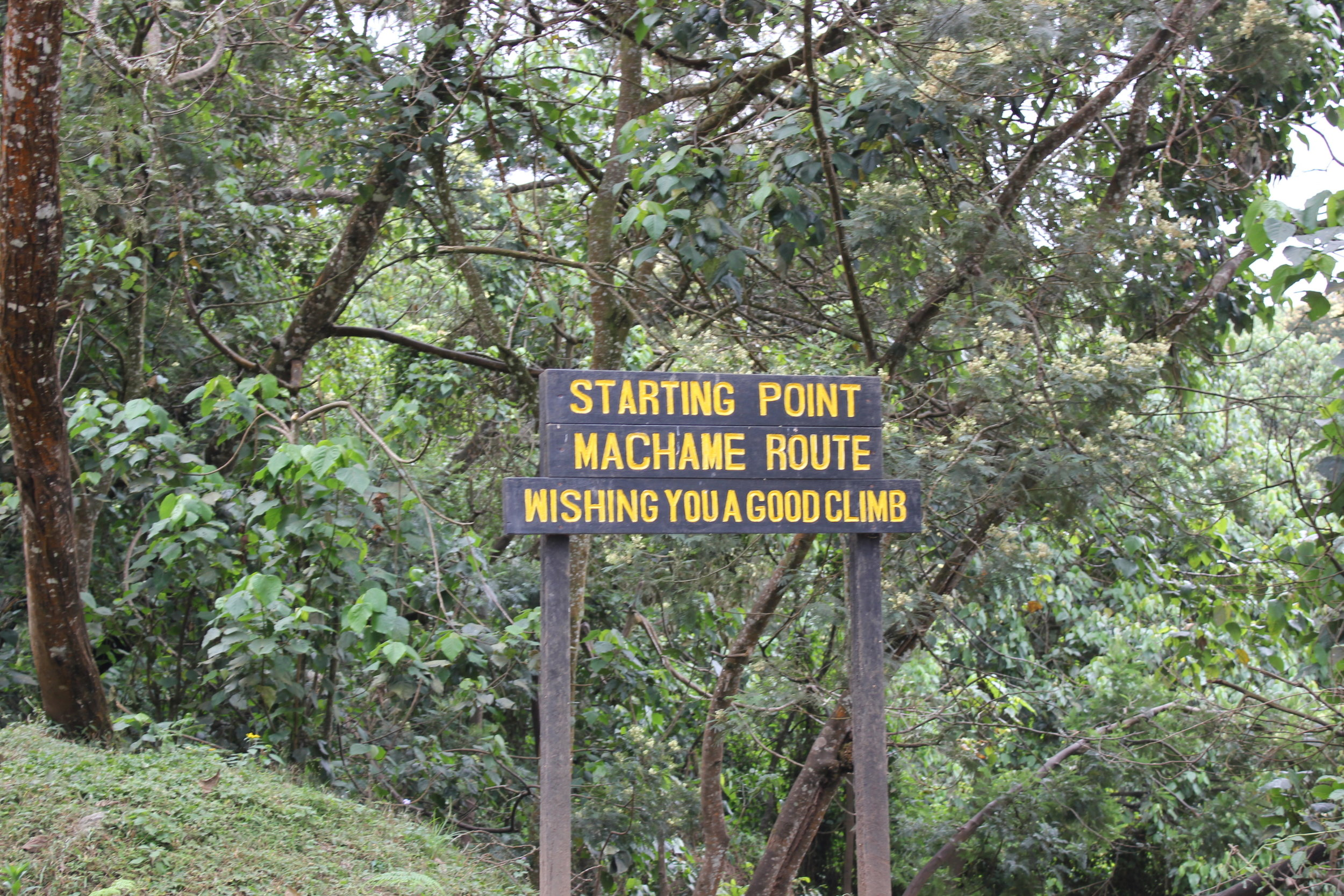 day 1 machame sign.jpg