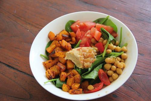 Dancing Foody Salad Bowl