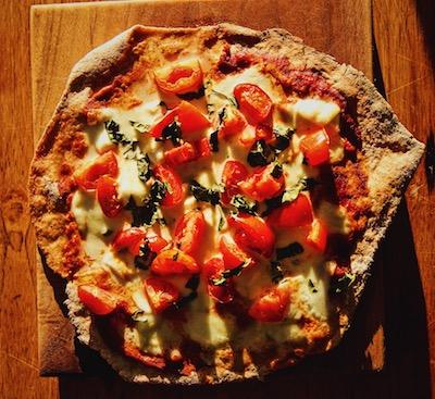 spelt healthy pizza