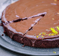 Dark Choc Orange Cake