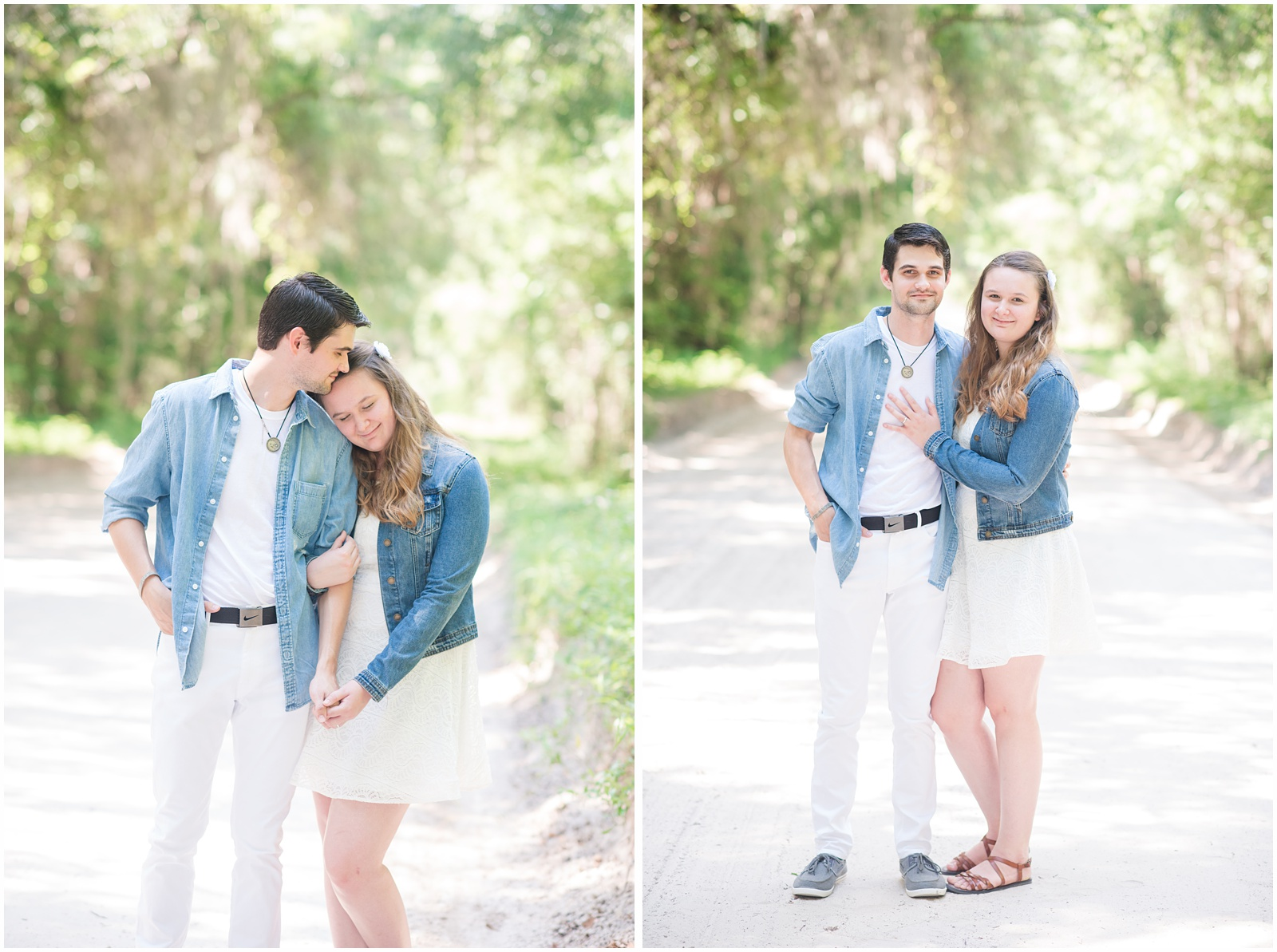 Fort White_Florida_Outdoor_Engagement_Portraits_9.jpg