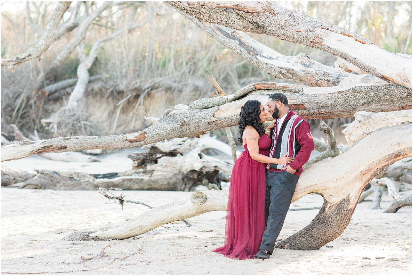 Big Talbot Island_Jacksonville_Florida_Beach_Couples_Portraits_6.jpg