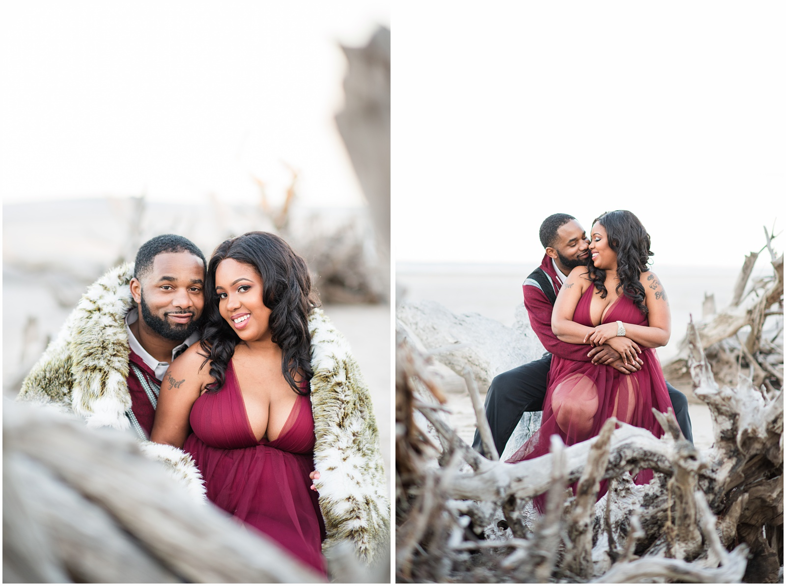 Big Talbot Island_Jacksonville_Florida_Beach_Couples_Portraits_18.jpg