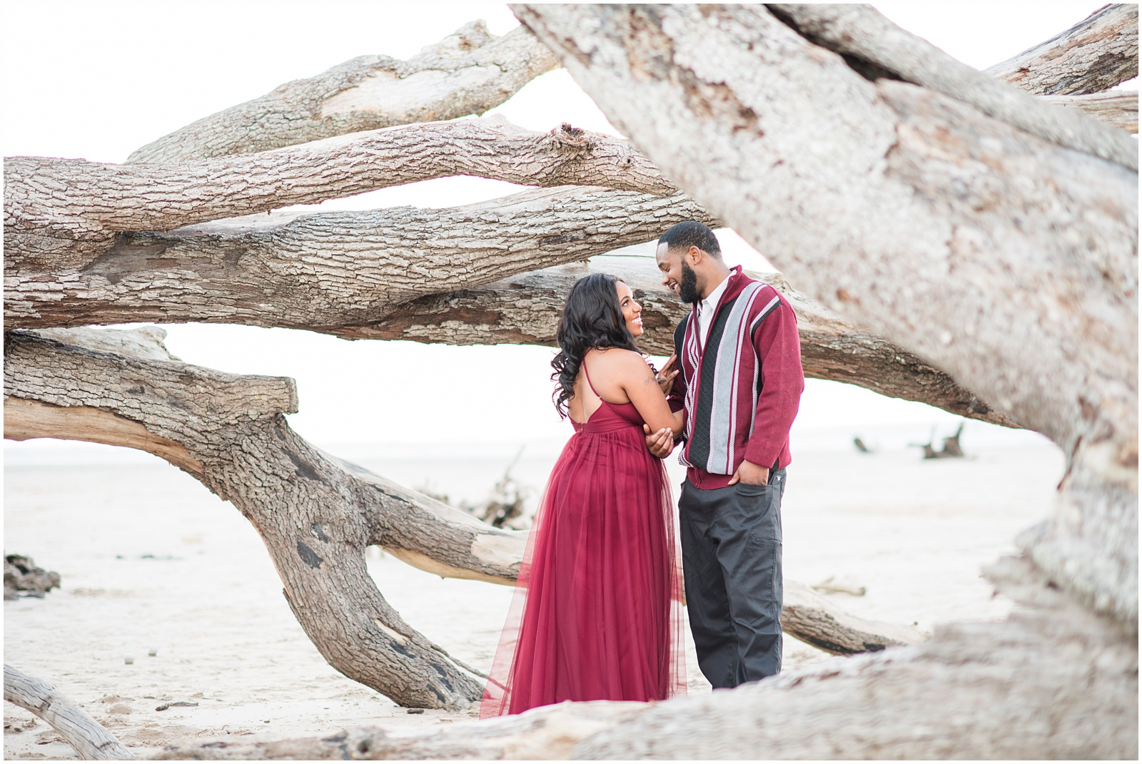 Big Talbot Island_Jacksonville_Florida_Beach_Couples_Portraits_23.jpg