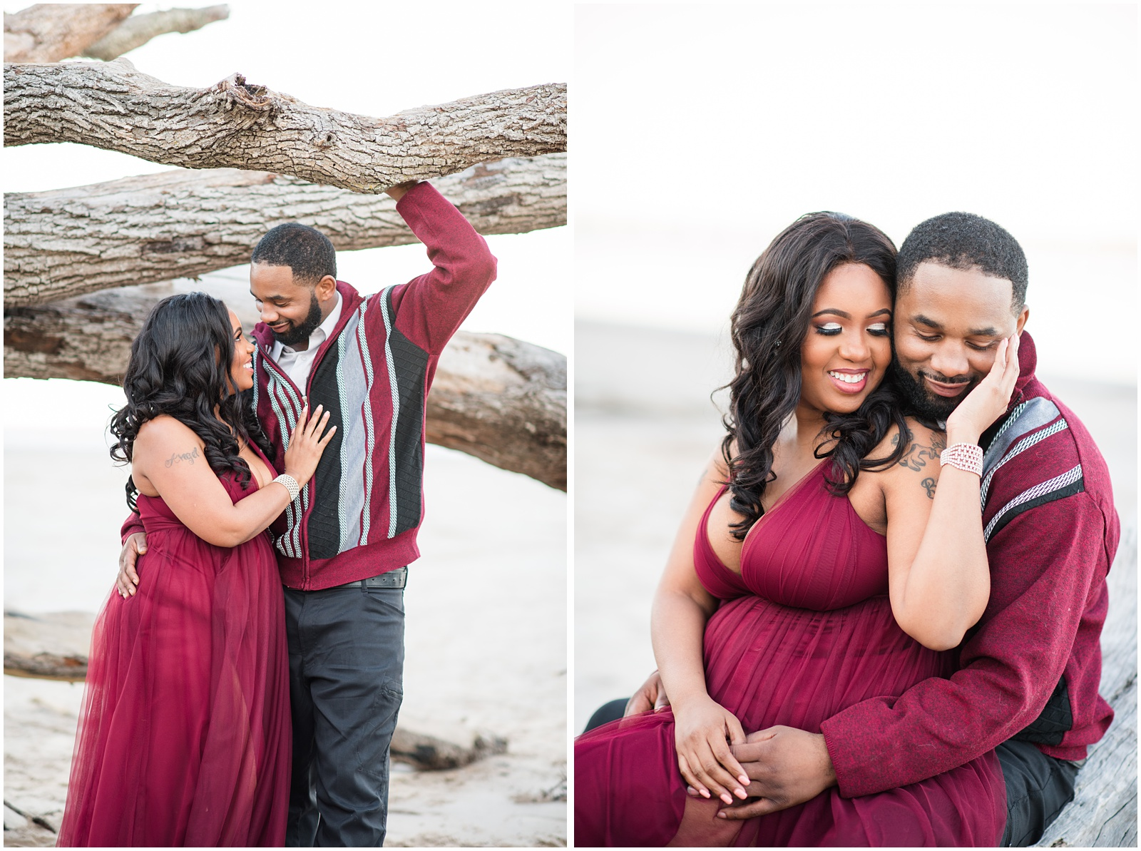 Big Talbot Island_Jacksonville_Florida_Beach_Couples_Portraits_21.jpg