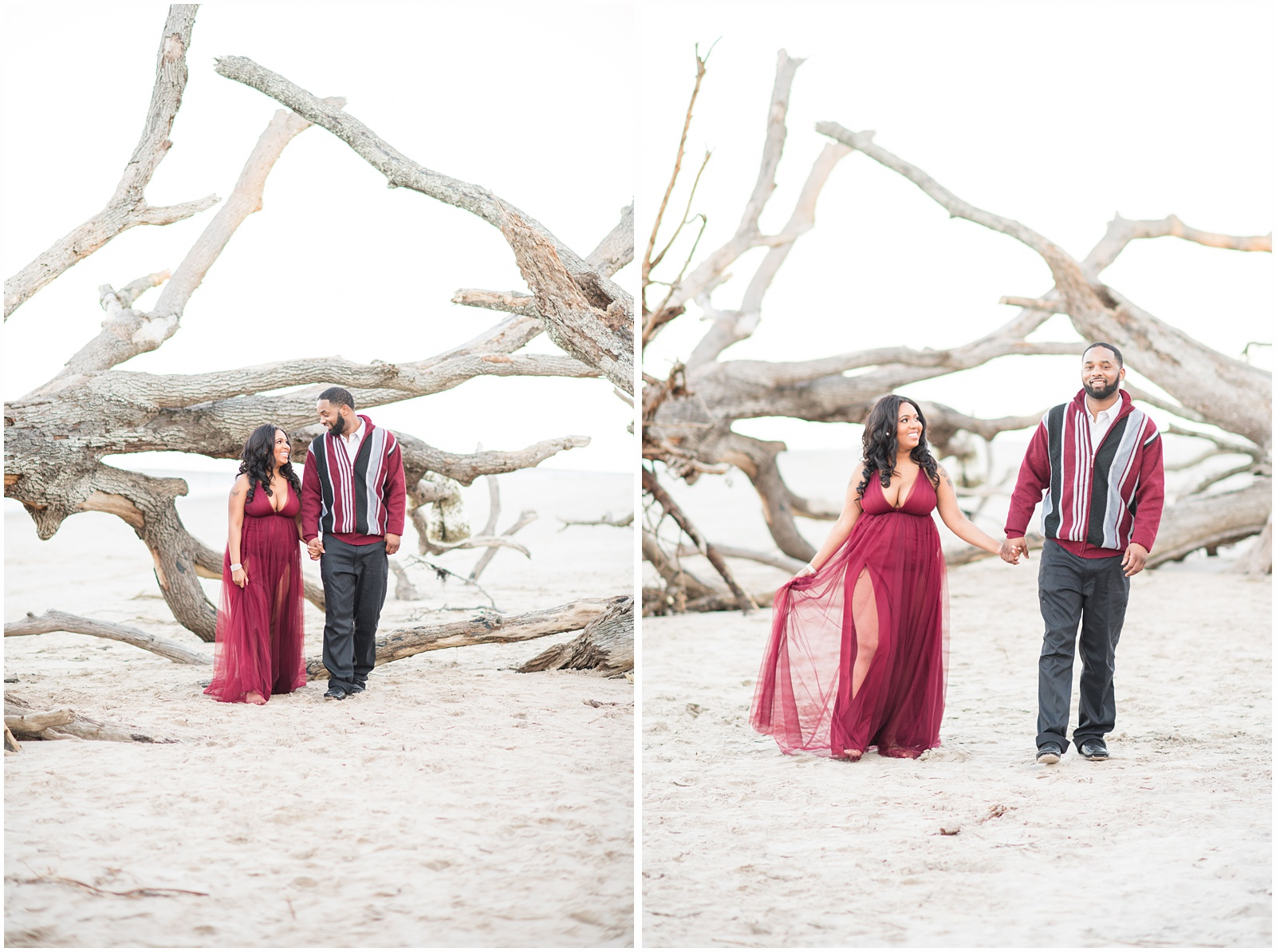 Big Talbot Island_Jacksonville_Florida_Beach_Couples_Portraits_26.jpg
