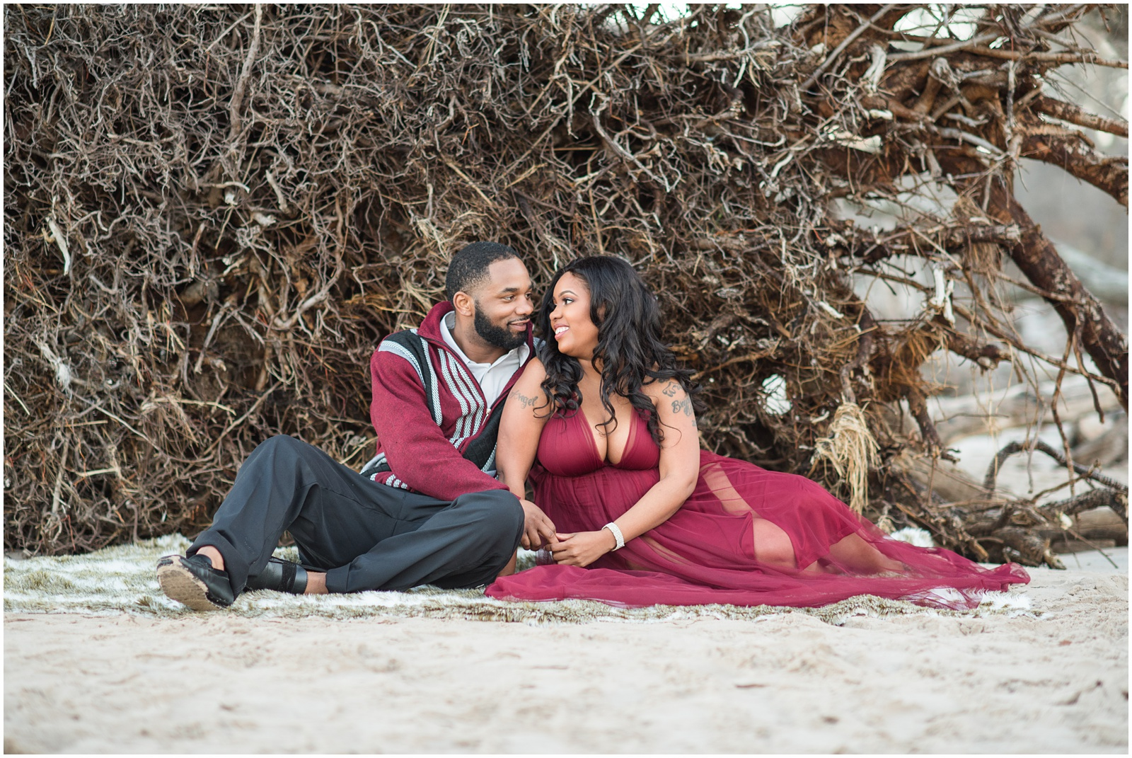Big Talbot Island_Jacksonville_Florida_Beach_Couples_Portraits_33.jpg