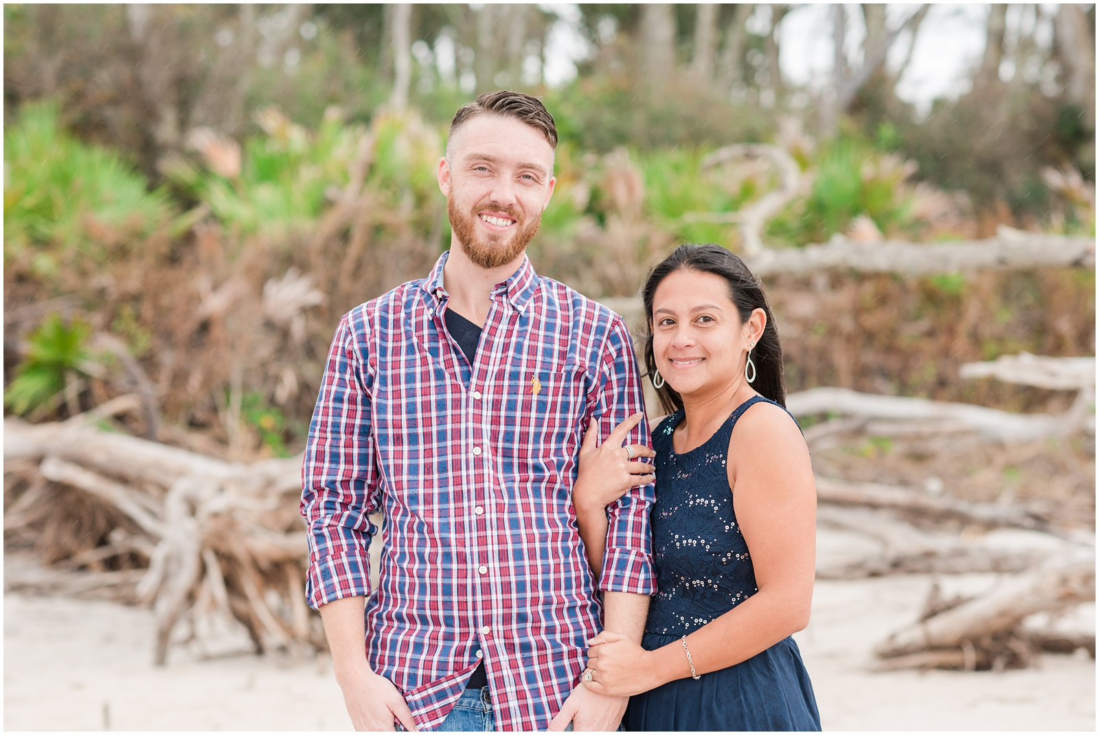 Big Talbot Island_Jacksonville_Florida_Beach_Driftwood_Engagement_Portraits_1.jpg