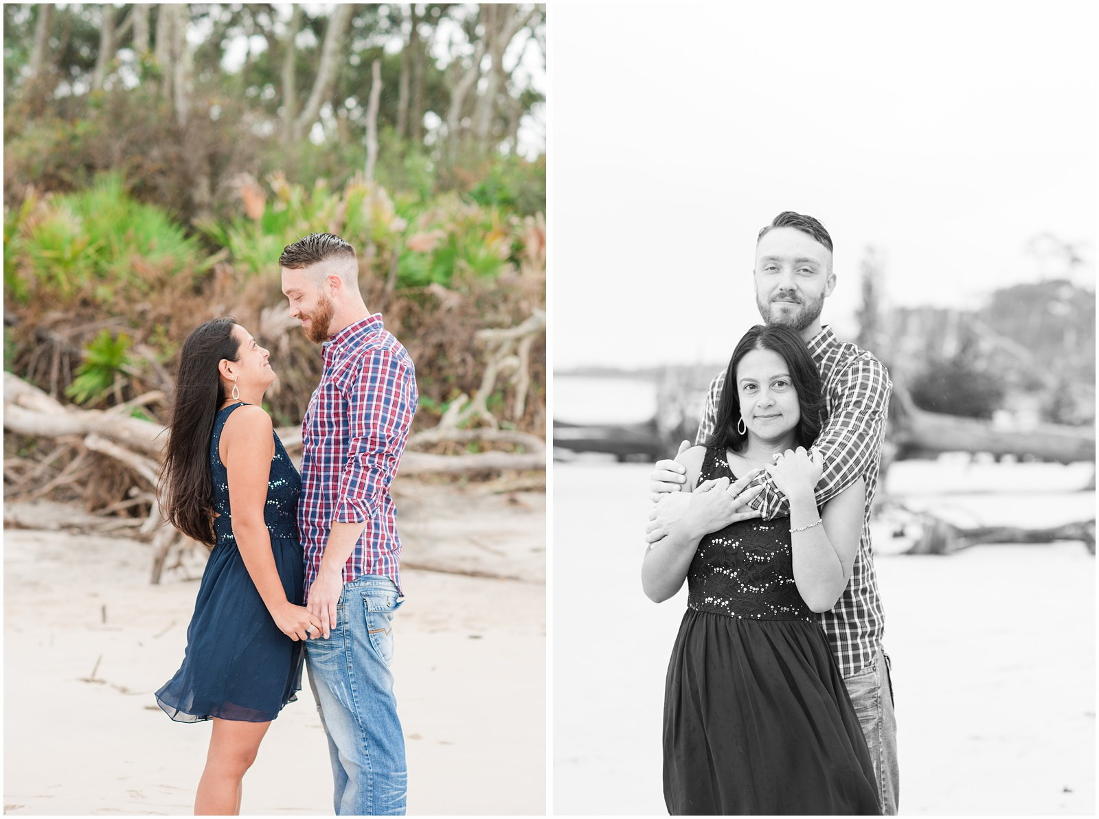 Big Talbot Island_Jacksonville_Florida_Beach_Driftwood_Engagement_Portraits_5.jpg