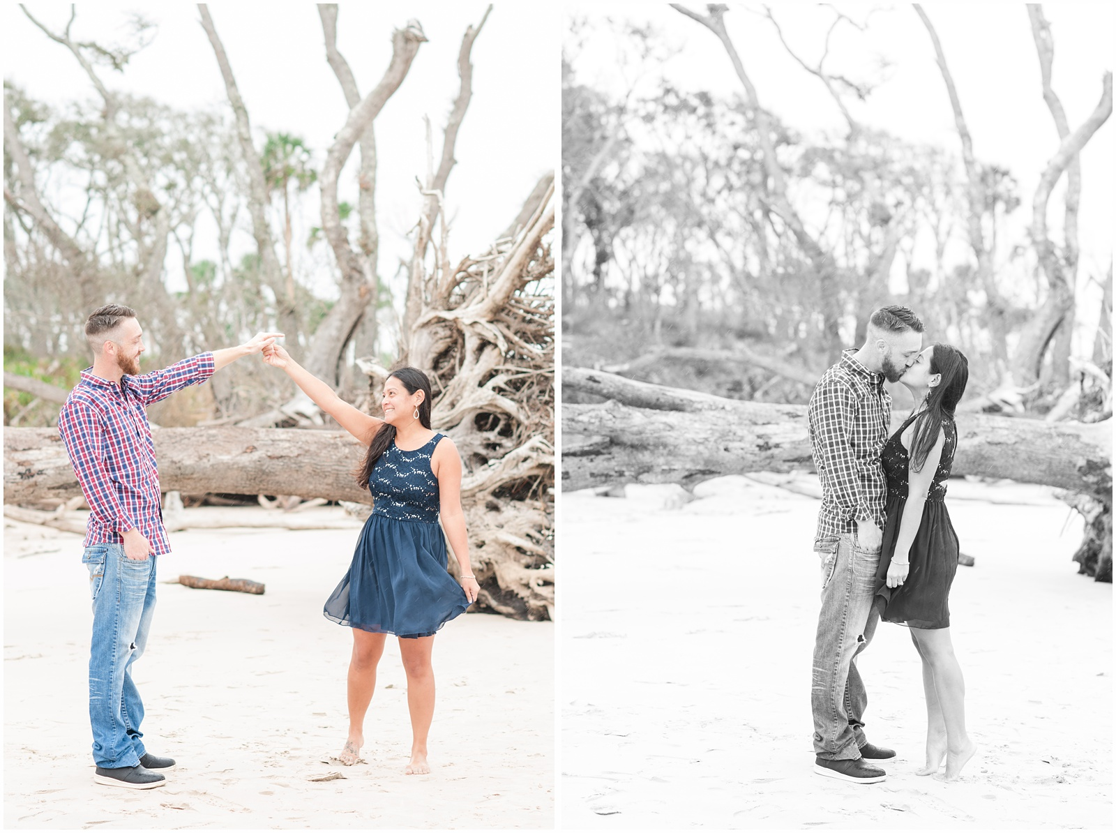 Big Talbot Island_Jacksonville_Florida_Beach_Driftwood_Engagement_Portraits_12.jpg