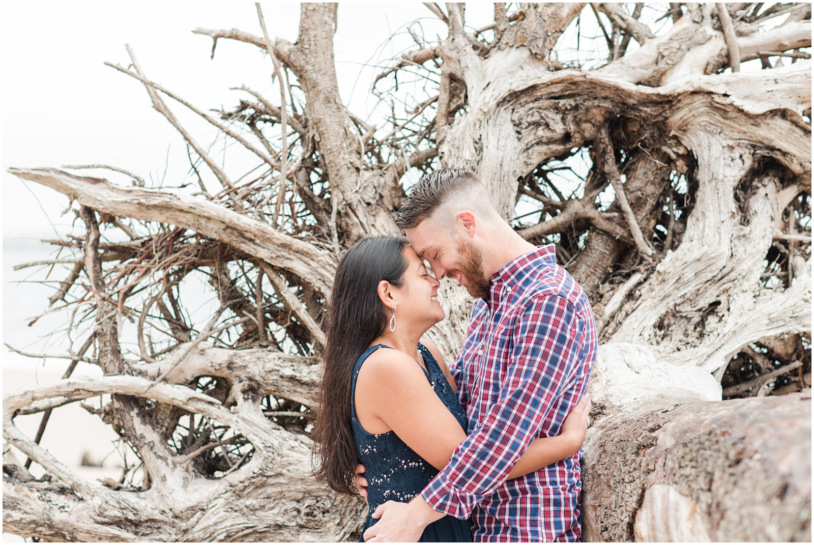 Big Talbot Island_Jacksonville_Florida_Beach_Driftwood_Engagement_Portraits_16.jpg