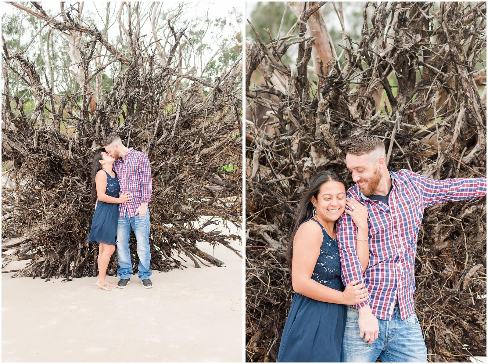 Big Talbot Island_Jacksonville_Florida_Beach_Driftwood_Engagement_Portraits_21.jpg