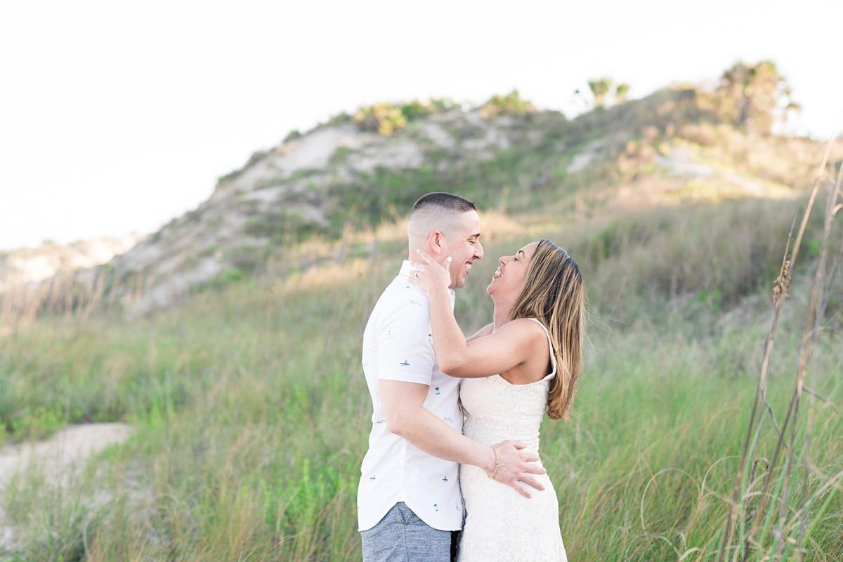 Guana Beach Preserve_Couple_Engagement Portraits_Sunset_Florida Beaches_3.jpg