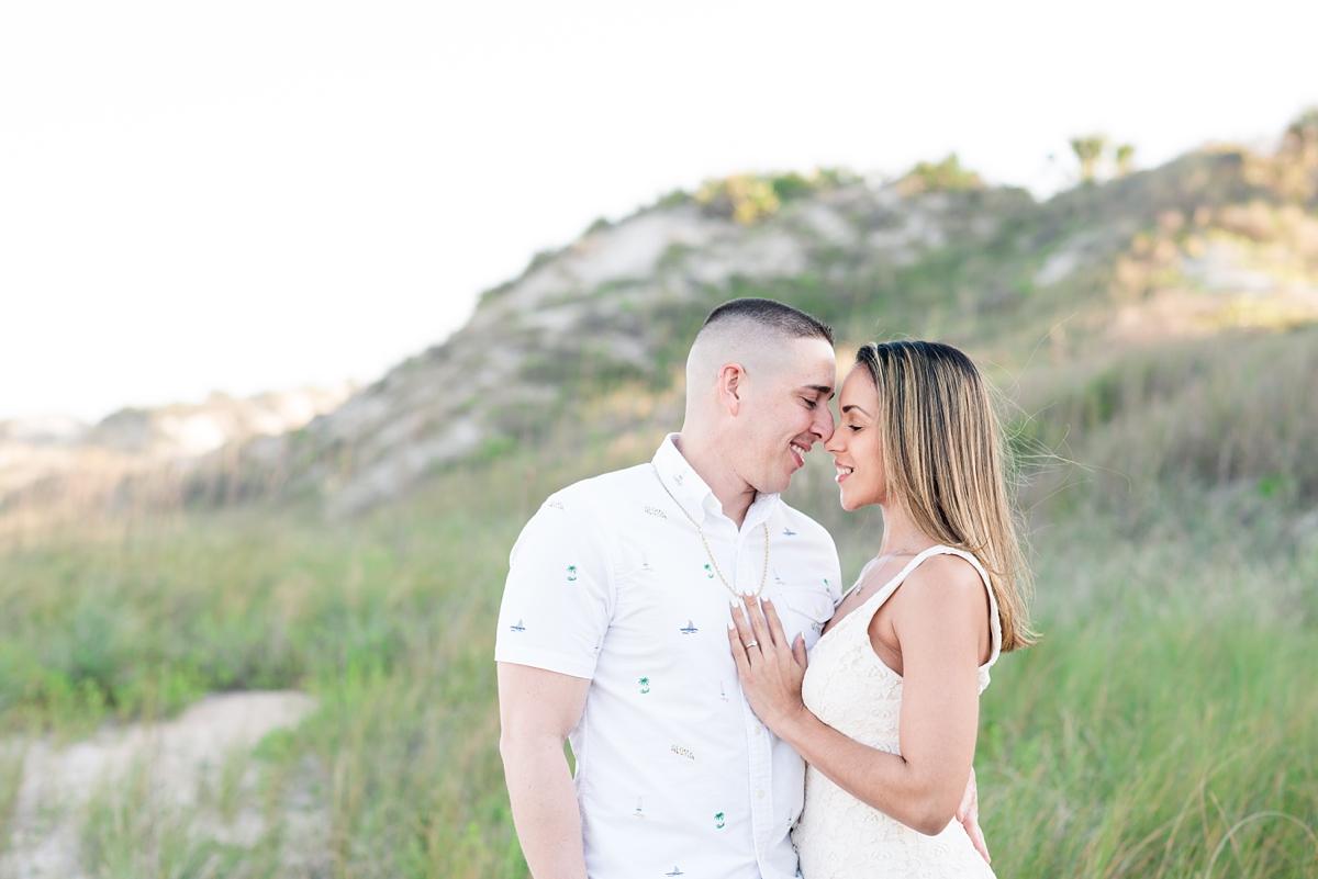 Guana Beach Preserve_Couple_Engagement Portraits_Sunset_Florida Beaches_1.jpg