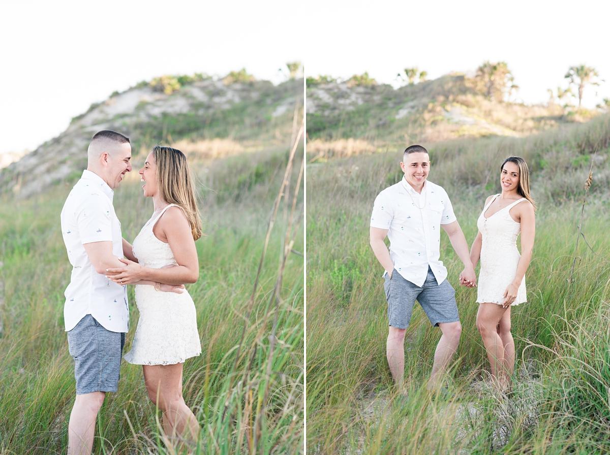 Guana Beach Preserve_Couple_Engagement Portraits_Sunset_Florida Beaches_5.jpg