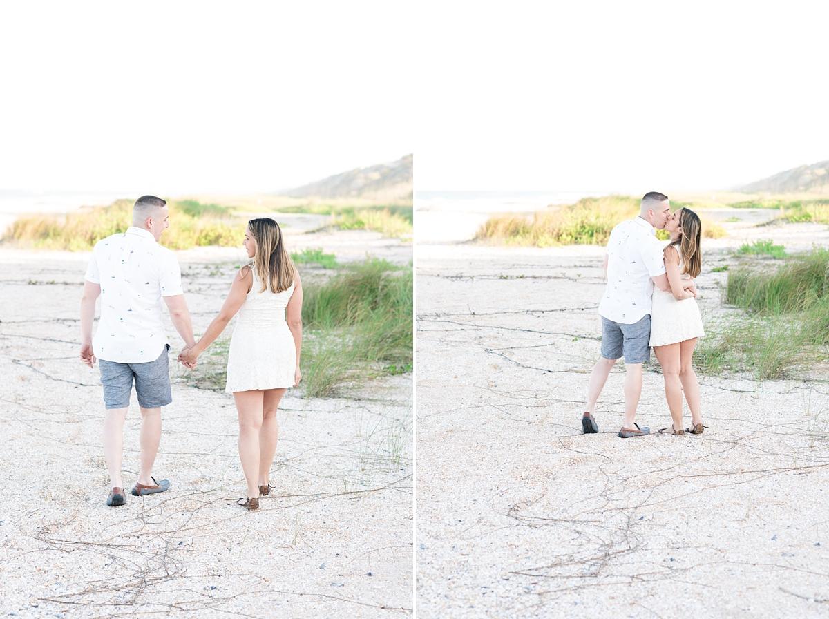 Guana Beach Preserve_Couple_Engagement Portraits_Sunset_Florida Beaches_9.jpg
