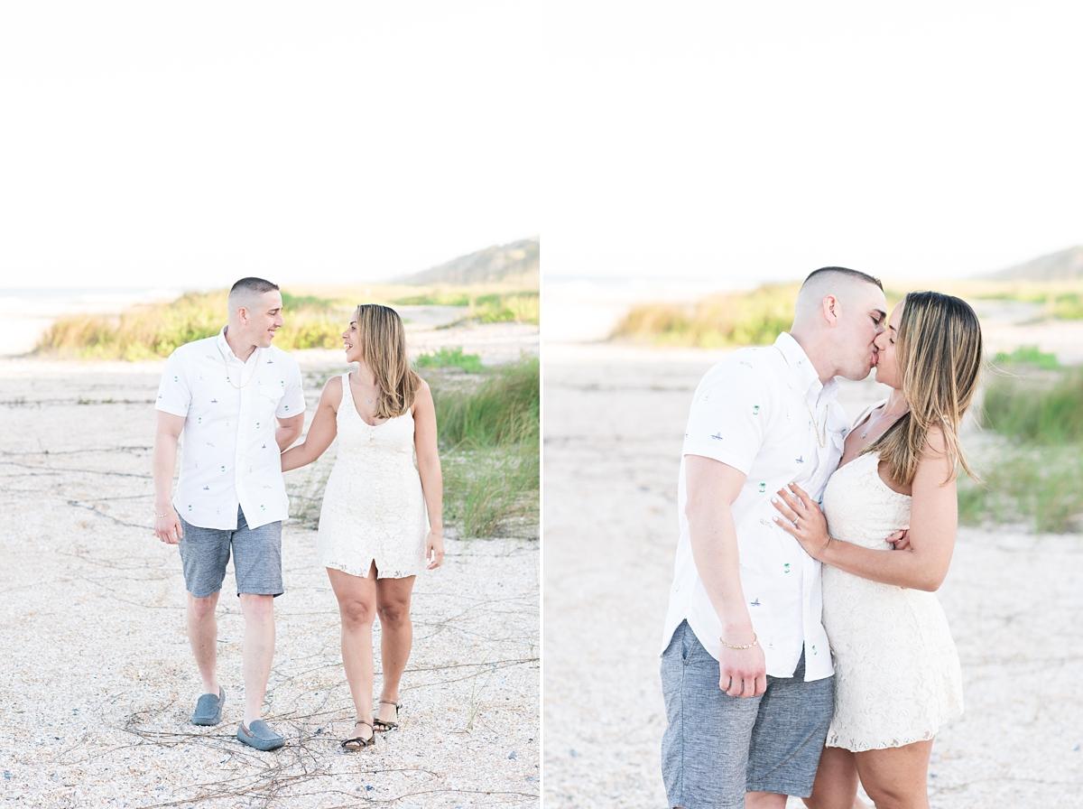 Guana Beach Preserve_Couple_Engagement Portraits_Sunset_Florida Beaches_10.jpg