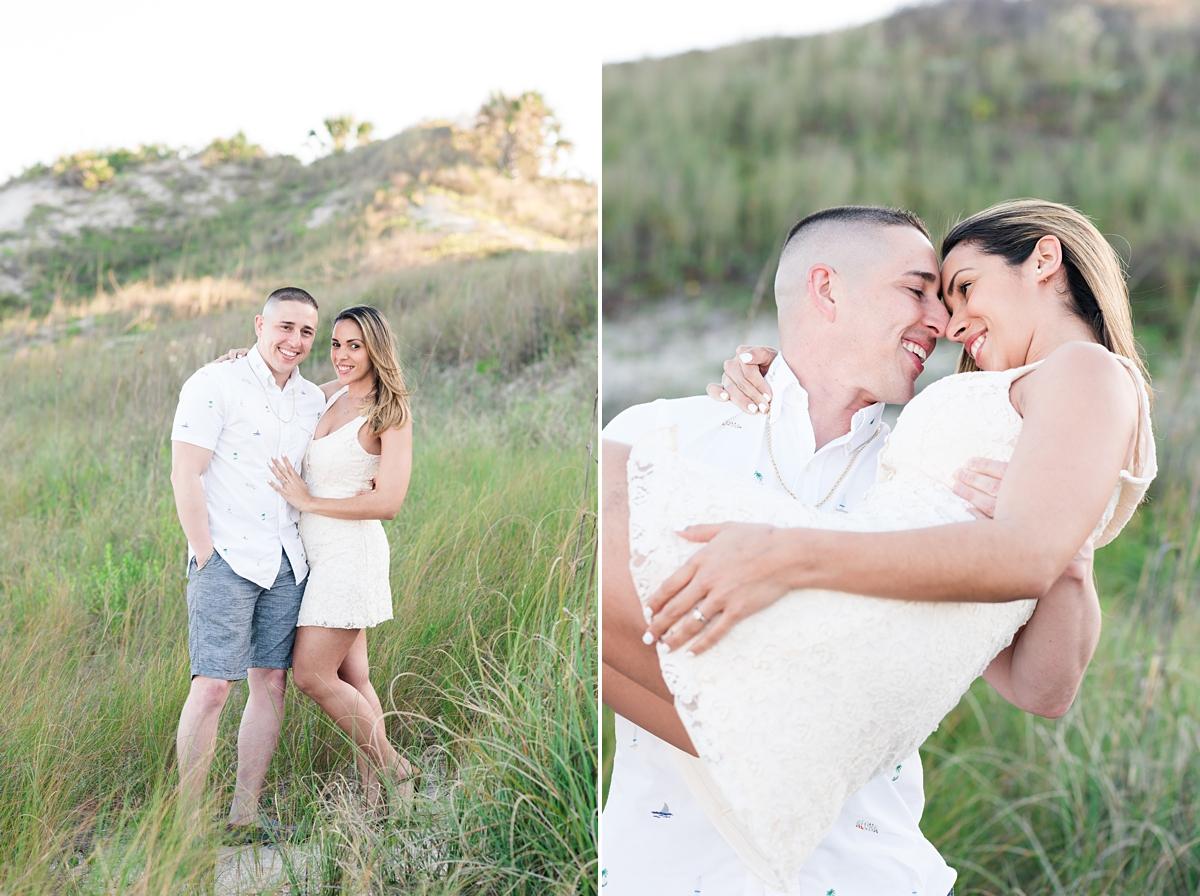 Guana Beach Preserve_Couple_Engagement Portraits_Sunset_Florida Beaches_8.jpg
