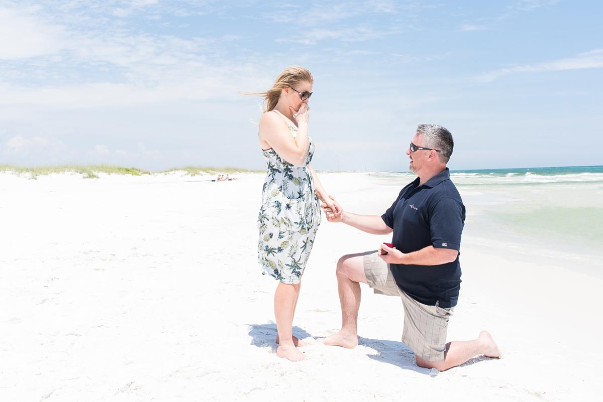 Proposal: David & Chasity   Destin Beach, Fl