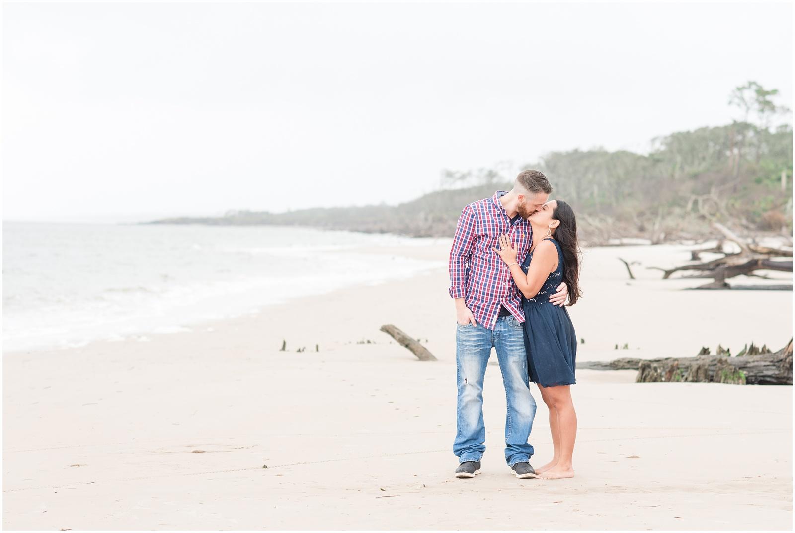 Adam & Jen   Big Talbot Island - Driftwood Beach | Jacksonville, Fl
